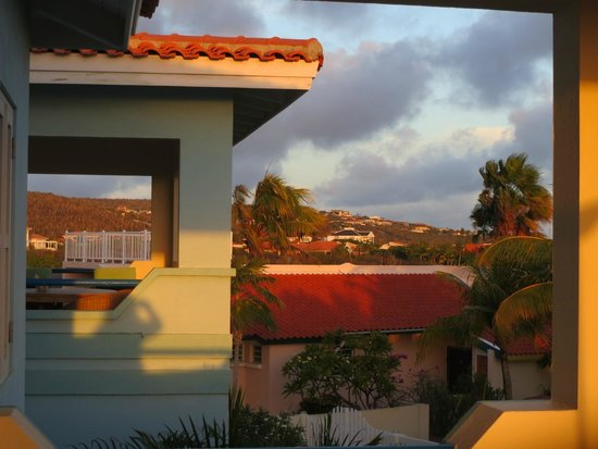 Caribbean Club Bonaire: South view from the balcony
