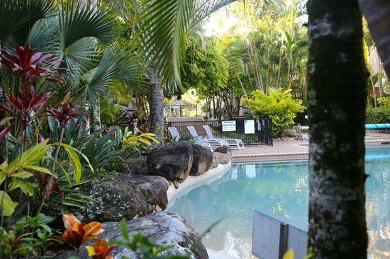 Sanctuary Lake Apartments : Tropical feel