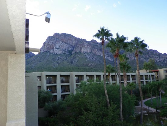 Hilton Tucson El Conquistador Golf & Tennis Resort: View of Catalina Mountains