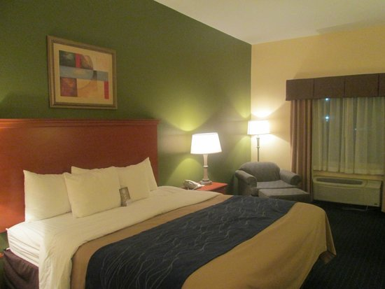 Comfort Inn & Suites Chipley: King Bed Room