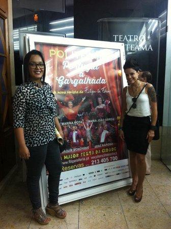 Teatro Politeama: Portugal á gargalhada