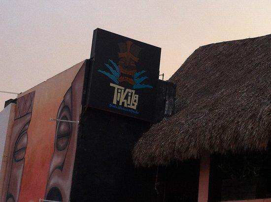 Tikila Bar sign