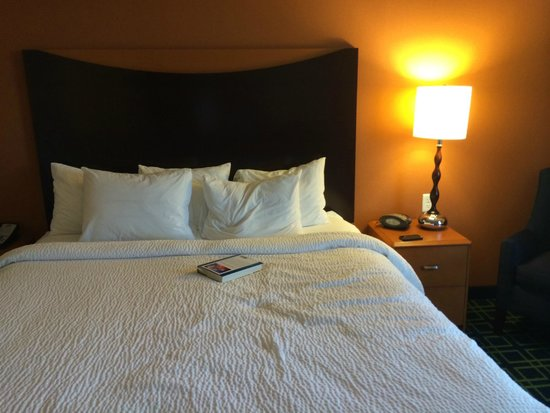 Fairfield Inn & Suites Buffalo Airport : The bed was very comfortable