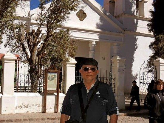 Iglesia de Plaza Central de Humahuaca