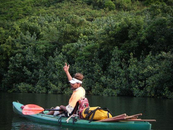 Wailua Kayak Adventures: Our fantastic guide, Cole.