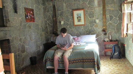 Posada de Santiago : The interior