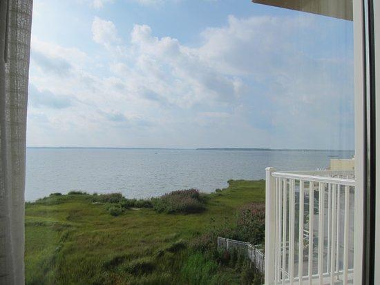 Hampton Inn & Suites Ocean City: View of Bayside (September 2013)