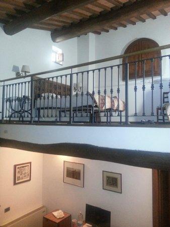 Hotel Palazzo Squarcialupi: The room
