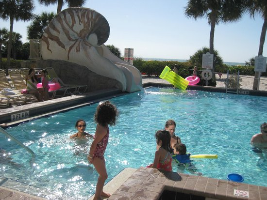 Sundial Beach Resort Spa Pool Shell Slide