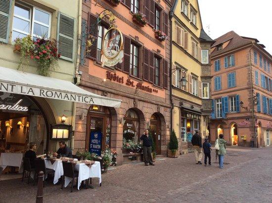 Front of Hotel Saint Martin