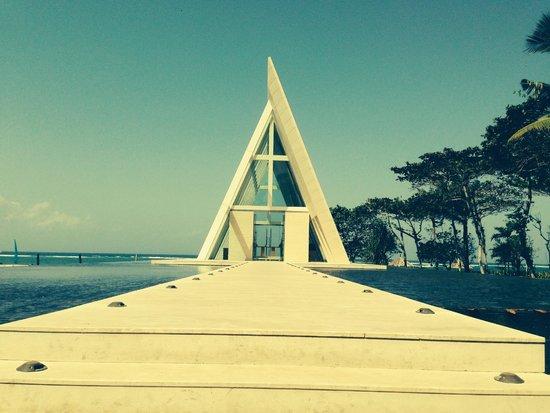Conrad Bali: the wedding chapel