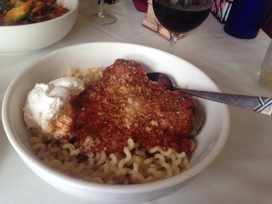 Casa Benedetto's Ristorante : Meatballs & ricotta!! Sooooo amazing. Didn't want to stop eating