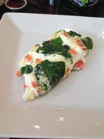 Las Vegas Marriott: Egg-white omlete