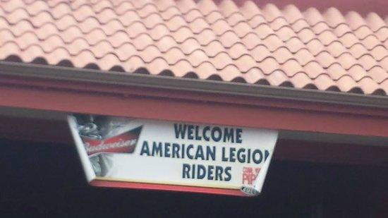 Rainbow Lodge and Inn: American Legions gathering 2014