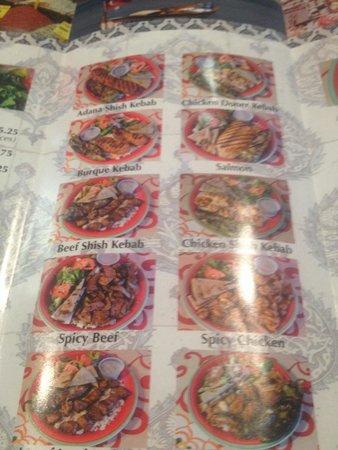 Menu picture of anatolia doner kabab house albuquerque for Anatolia mediterranean cuisine menu