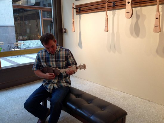 Appalachian Strings: Aaron, The business owner and luthier