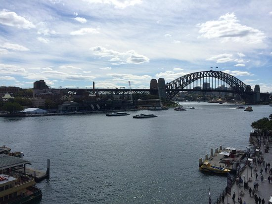 Pullman Quay Grand Sydney Harbour: View from the 7th floor harbour side rooms.