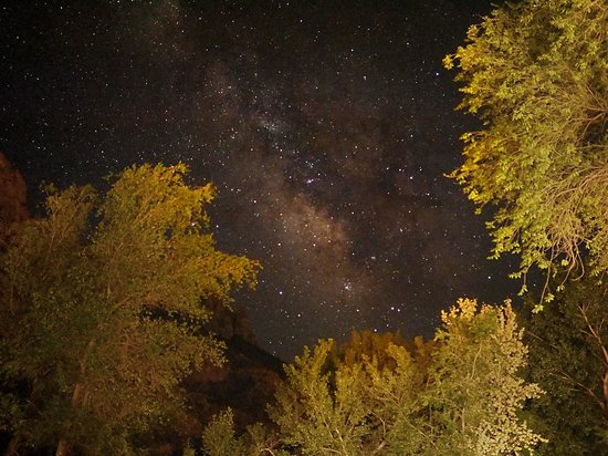 Desert Pearl Inn: The Milky Way as seen from the Desert Pearl.
