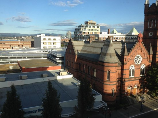 The Strathcona Hotel : View from the 5th floor