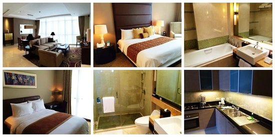 Oakwood Premier Cozmo Jakarta: Excellent and high quality 2-br apartment