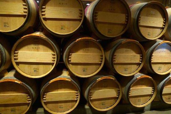 San Francisco Shuttle Tours: Mondavi wine