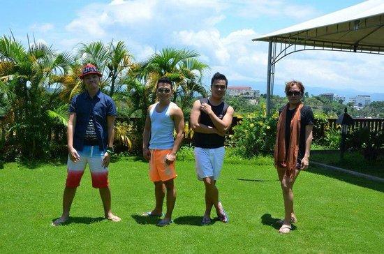 Alta Vista de Boracay : Garden Overlooking