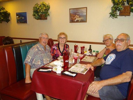 Vincent's Italian Restaurant: The Fab Four....