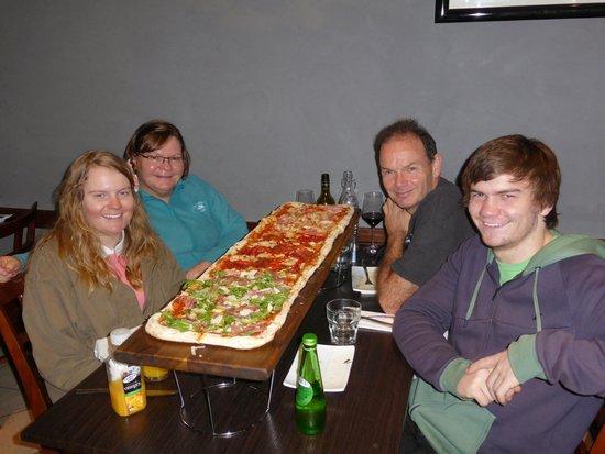 Mezza Via Italian Cuisine 1 Meter Pizza