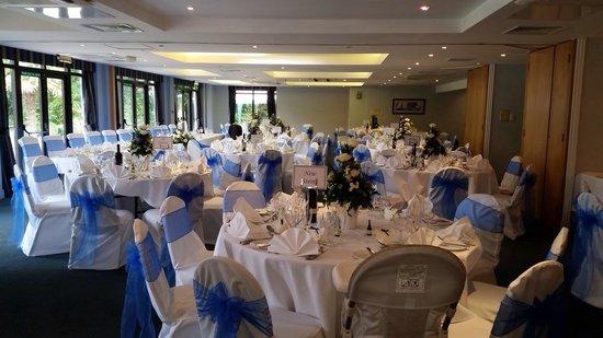 Churt, UK: Wedding Day