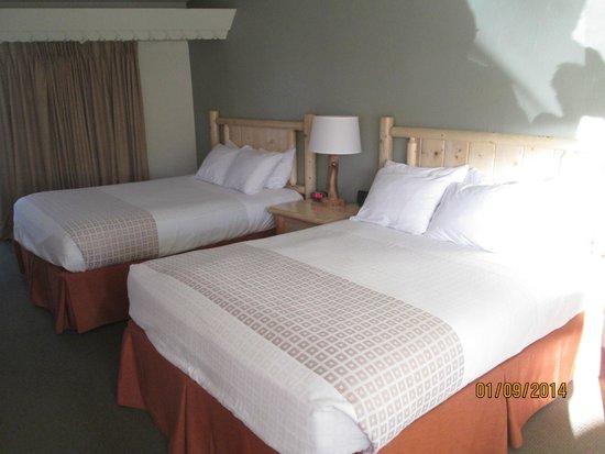 BEST WESTERN East Zion Thunderbird Lodge: les deux lits queens