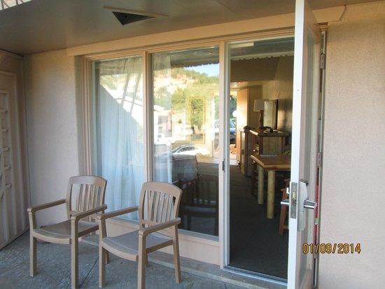 Best Western East Zion Thunderbird Lodge: la terrasse