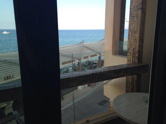 Palmera Beach Hotel : Meerblick Balkon
