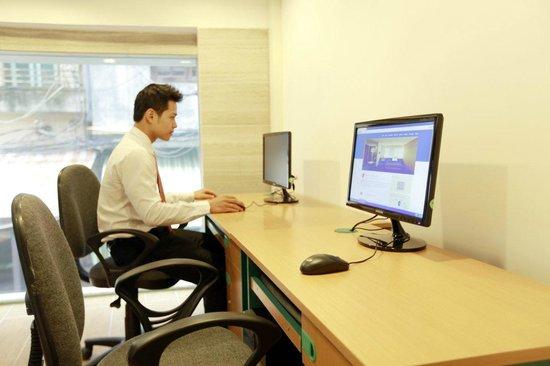 هانوي رومانس هوتل: business center
