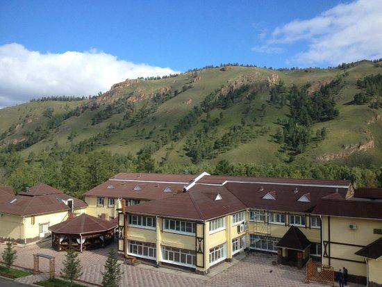 Takmak Spa Hotel: манящий вид