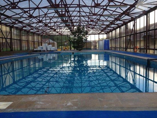 Takmak Spa Hotel: бассейн теплый в любой день
