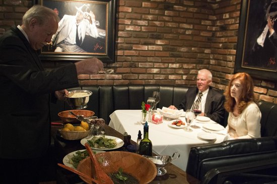 Manhattan of La Jolla: Table Made Caesar Salad