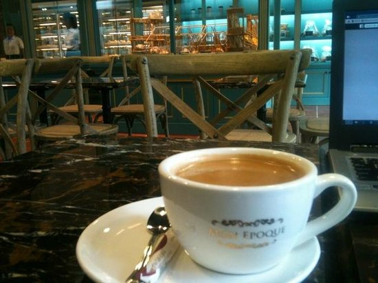 Mon Epoque: just relax and have a coffee