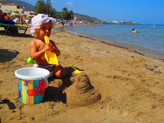 Aktia Lounge Hotel & Spa: plage à 50m de l'hotel