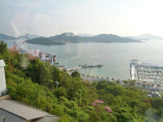 Bella Vista Spa & Marina Onomichi: view of bay left