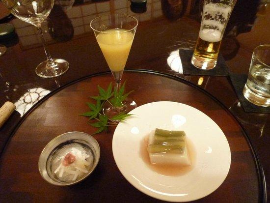 Bella Vista Spa & Marina Onomichi: appetiser