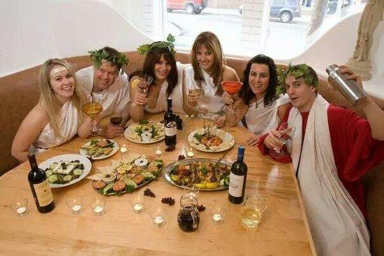 Plaza Restaurant & Tavern: The Greek God's of Fun Dining!