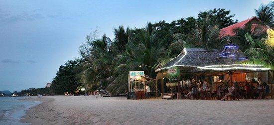 ماي سبا ريزورت: Restaurant on the beach side