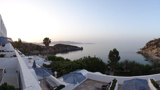 Istron Bay Hotel: Aussicht vom Balkon