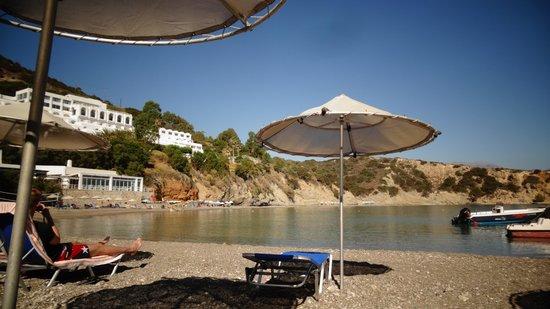Istron Bay Hotel: Strand
