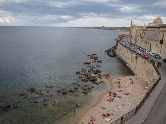 رويال مانياتشي هوتل: View from the room balcony