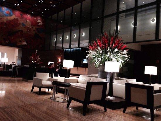 هيلتون ميكسيكو سيتي ريفورما: The lobby
