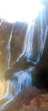 Desert Majesty: Ouzoud Waterfall
