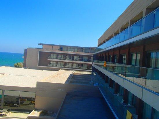 Aktia Lounge Hotel & Spa: vue sur la droite de notre chambre