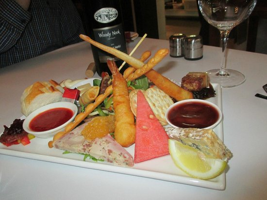The Nookery Cafe: The delicious tapas platter
