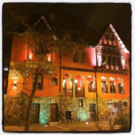 Hotel Boutique Castillo Rojo: the turn of the century red castle/villa, could get enough photos